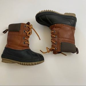 Baby Gap Lace Up Winter Duck Boots